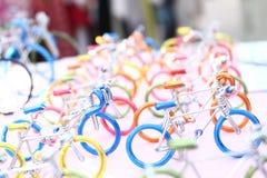 Bicyklu modela zabawka zdjęcie royalty free