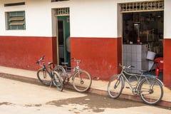 Bicyklu park Fotografia Royalty Free