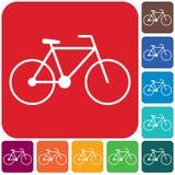 Bicyklu, roweru ikona/ ilustracja wektor