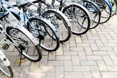 bicyklu rząd zdjęcie stock