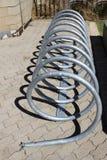 Bicyklu stojak Zdjęcie Stock