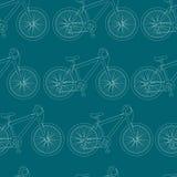 Bicyklu wzór Zdjęcia Stock