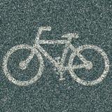 Bicyklu znak Obraz Royalty Free