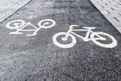 Bicyle pas ruchu Obrazy Stock