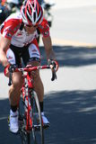 Bicyle Racer Royalty Free Stock Images