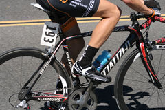 Bicyle Racer Stock Photography