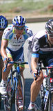 Bicyle Racers Stock Images