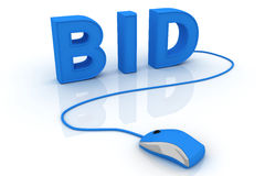 Bid concept Stock Photo