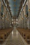 Bid en kerk Royalty-vrije Stock Foto