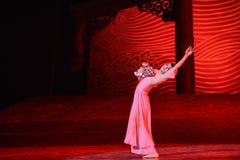 "Bid farewell-Dance drama ""The Dream of Maritime Silk Road"" Stock Photo"