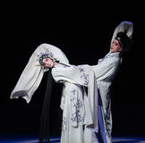 "Bid farewell in tears-The ninth act Sealing the bowl-Kunqu Opera""Madame White Snake"". Legend of the White Snake is one of the most famous tales Stock Photo"