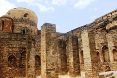 Bidar Fort Royalty Free Stock Photos
