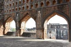 Bidar fort, Karnataka, Indien Arkivfoton