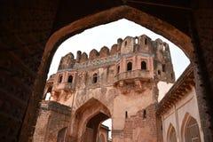 Bidar fort, Bidar, Karnataka. Bidar fort and monuments view, Bidar, Karnataka, India royalty free stock images