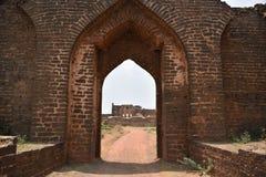 Bidar fort, Bidar, Karnataka. Bidar fort and monuments view, Bidar, Karnataka, India stock photo