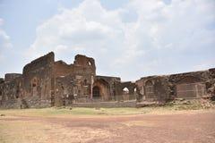 Bidar fort, Bidar, Karnataka. Bidar fort and monuments view, Bidar, Karnataka, India stock images