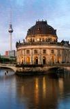 Bidat museum i Berlin royaltyfria bilder