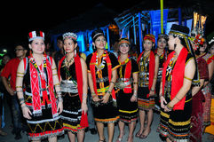 Bidayuh Women stock photo