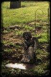 Biddend Angel Grave royalty-vrije stock foto's