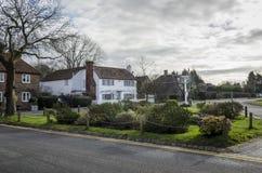 Biddenden Village Green imagem de stock royalty free