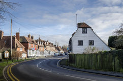 Biddenden Village High Street Royalty Free Stock Photos