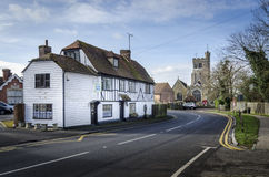 Biddenden Village High Street Royalty Free Stock Image