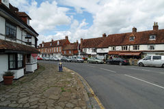 Biddenden village  High Street Royalty Free Stock Photography