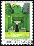 Biddulph农庄英国邮票 免版税库存图片