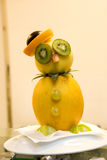 Biddy made of fresh fruits. Biddy made of fresh and healthy fruits Royalty Free Stock Images