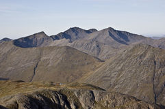 Bidean nam Bian. Massif seen from Buachaille Etive Mor Royalty Free Stock Photo