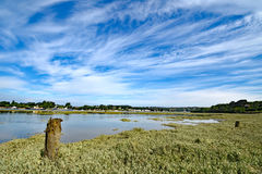 Bideford norr Devon, England Royaltyfria Bilder