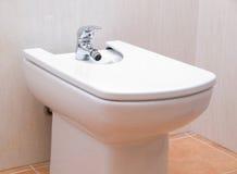 Bidet in a bathroom Royalty Free Stock Photo