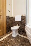 Bidet in luxury bathroom interior Stock Photo