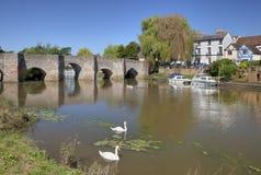 Bidford-op-Avon, Warwickshire Royalty-vrije Stock Foto's