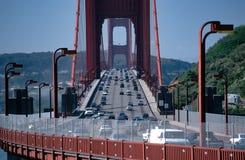 Bidge do Golden Gate no sol da manhã Fotografia de Stock Royalty Free