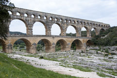 Bidge of Gard, France Stock Image