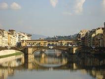 Bidges em Florença fotografia de stock