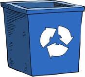 Bidon d'ordures illustration stock