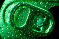 Bidon de bicarbonate de soude Photographie stock libre de droits