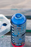 Bidon de jet de graffiti Images libres de droits