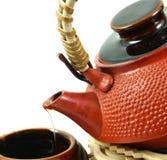 Bidon de té image stock