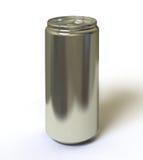Bidon en aluminium Photographie stock