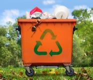 Bidone della spazzatura Immagine Stock Libera da Diritti