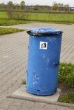 Bidone della spazzatura Fotografia Stock