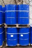 Bidones de aceite Imágenes de archivo libres de regalías