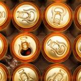 Bidons de bière images stock