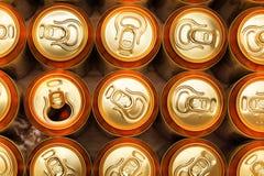 Bidons de bière photos stock
