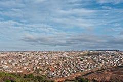 Bidonville africana Fotografie Stock