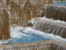 Bieżącej wody fontanna publicznie fotografia royalty free