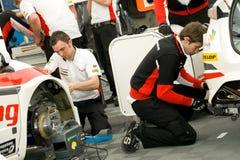 bieżna Honda drużyna zdjęcia stock